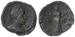 Ancient Coins - Trebonianus Gallus AE Sestertius, Near Extremely Fine, SCARCE, 251 - 253 C.E.
