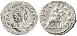 Ancient Coins - Herennia Etruscilla AR Antoninianus, Extremely Fine, 249 - 251 C.E.