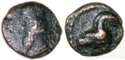 Ancient Coins - Vologases III AE, RARE AVF/Bold VF, 105 - 147 C.E.