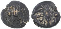 Ancient Coins - Porcius Festus procurator under Nero AE Prutah, VF, Pedigreed, 58/59 C.E.