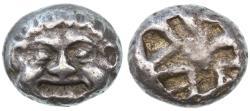 Ancient Coins - Parion, Mysia AR Drachm, Choice Very Fine, 6th - 5th Century B.C.E.