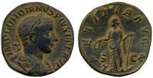 Ancient Coins - Gordian III AE Sestertius, EF, 240 - 243 C.E.