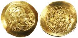 Ancient Coins - Michael VII Ducas EL Histamenon Nomisma, AEF, 1071 - 1078 C.E.