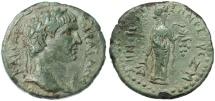 Ancient Coins - Irenopolis - Neronias, Cilicia, Trajan AE, AEF/GVF, 98/99 C.E.