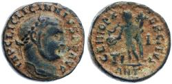 Ancient Coins - Licinius I AE Follis, HEAVY VF, Apparently Unpublished in RIC, Circa. 311/312 C.E.