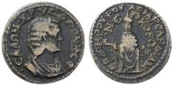 Ancient Coins - Sardis, Lydia, Salonina AE 27, Very SCARCE, Near VF, 254 - 268 C.E.