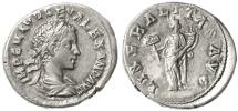 Ancient Coins - Rome Alexander Severus AR Denarius, VF+, 233 - 235 C.E.