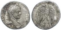 Ancient Coins - Elagabalus AR Tetradrachm, Antioch, VF, 219 C.E.