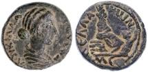 Ancient Coins - Pella of the Decapolis, Lucilla AE, Choice VF+, Scarce, 177/178 C.E.