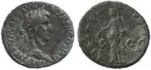 "Ancient Coins - Nerva AE AS, VF/F, ""Libertas"", 96 - 98 C.E."