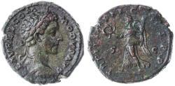 Ancient Coins - Commodus as Caesar AE AS, EF/AEF, RARE & Pedigreed!, 177 C.E.