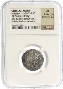 Ancient Coins - Mazaios Satrap of Cilicia AR Stater,