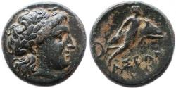 Ancient Coins - Caria, Iasos AE, GVF, RARE!, Circa. 250 - 190 B.C.E.