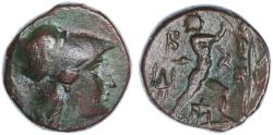 Ancient Coins - Macedon, Antigonos II Gonatas AE, Bold VF, 277 - 239 B.C.E.