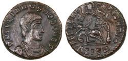 Ancient Coins - Julian II as Caesar AE Centenionalis, Extremely Fine, Siscia Mint, 355 - 361 C.E.