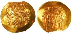 Ancient Coins - John III Ducas (Vatatzes), Emperor of Nicaea AV Gold Hyperpyron Nomisma, Near EF, 1222-1254 C.E.