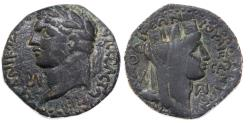 Ancient Coins - Domitian, Laodicea ad Mare AE, VF, 84/85 C.E.