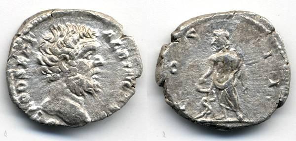 Ancient Coins - Clodius Albinus AR Denarius, VF+