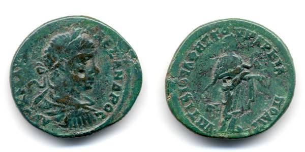 Ancient Coins - Severus Alexander, Marcianapolis, Moesia Inferior AE 26