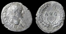 Ancient Coins - Vespasian AR Denarius, Very Fiine, Ephesus Mit, 69 - 79 C.E.