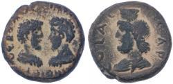 Ancient Coins - Aelia Capitolina, Marcus Aurelius & Lucius Verus AE, Near VF/GVF, Circa, 161 - 169 C.E.