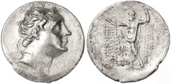 Ancient Coins - Nikomedes III AR Tetradrachm, About Extremely Fine, RARE YEAR 117/116 B.C.E.