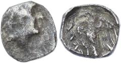 "Ancient Coins - Yehud AR 1/4 Ma'ah, ""YHDH"", Very Fine, Early 3rd Century B.C.E."