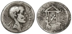 Ancient Coins - P. Cornelius Lentulus AR Denarius, Very RARE, Fine, 50 B.C.E.
