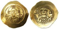 Ancient Coins - Michael VII Ducas Histamenon Nomisma, GVF, 1071 - 1078 C.E.