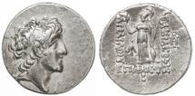 Ancient Coins - Ariarathes VI AR Drachm, Cappadocia, CHOICE VF+, Rare date, Year 10 - 121/120 B.C.E.