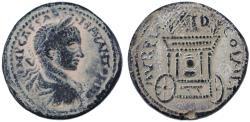 Ancient Coins - Sidon, Phoenicia, Elagabalus AE 30, Choice About Extremely Fine, 218 - 222 C.E.