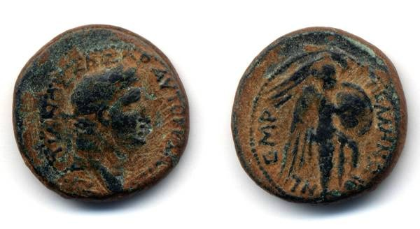 Ancient Coins - Domitian City Coin of Pella
