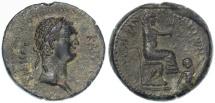 Ancient Coins - Domitian, Flaviopolis-Flavias, Cilicia AE, EF/Near EF, 89/90 C.E.