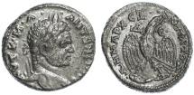 Ancient Coins - Caracalla AR Tetradrachm, Antioch, Syria, EF, 213 - 217 C.E.