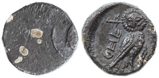 Ancient Coins - Hezekiah AR Yehud 1/2 Ma'ah, Good Extremely Fine, SUPERB! 333 - 302 B.C.E.