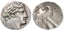"""Ancient Coins - AR Half Shekel of Tyre, """"Temple Tax Coin"""",  EF/AEF, Lovely style, 80/79 B.C.E."""