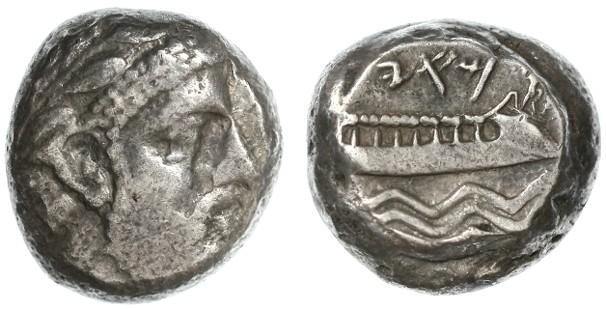 Ancient Coins - Arados, Phoenicia AR Stater, VF/GVF, 400 - 350 B.C.E.