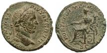 Ancient Coins - Caracalla AE AS, EF/AEF, Rare, 211 C.E.