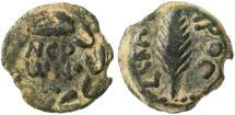 Ancient Coins - Porcius Festus Procurator under Nero AE Prutah, VF, 58/59 C.E.