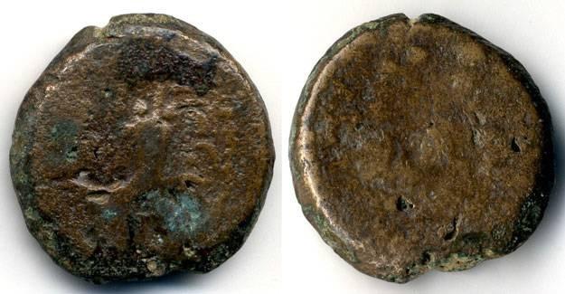 Ancient Coins - Mattathias Antigonus, LARGE denomination, Budget scarce coin