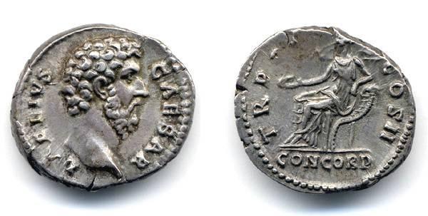 Ancient Coins - Aelius Caesar, NEAR EF and SCARCE Denarius