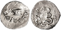 Ancient Coins - Cistophoric AR Tetradrachm, Ionia, Ephesus, Scarce EF see notes, 42 - 39 B.C.E.