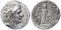 Antiochos VII Eurgetes AR Tetradrachm, GVF/EF, 138 - 129 B.C.E.