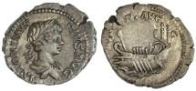 Ancient Coins - Caracalla AR Denarius, SCARCE, EF/AEF, 198 - 217 C.E
