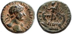 Ancient Coins - Tripolis, Phoenicia, Hadrian AE, Choice VF, Very SCARCE, 117 C.E.
