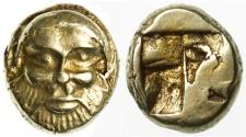 Ancient Coins - Ionia, Phokaia EL Hekte, Very RARE, Near EF, 521 - 478 B.C.E.