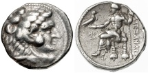 Alexander III the Great AR Tetradrachm, Ake Mint - Affordable example, RARE date, 316/315 B.C.E.