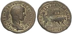Ancient Coins - Bostra of the Decapolis, Severus Alexander AE 32, Founder's Coin,  F/VF, 222 - 235 C.E.