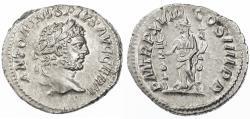 Ancient Coins - Caracalla AR Denarius, Extremely Fine, Circa. 215 C.E