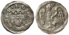 World Coins - Bela IV AR Denar, Hungary, GVF, 1235 - 1270 C.E.